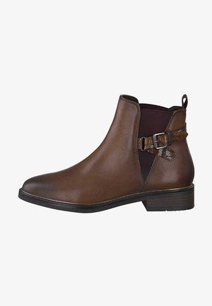 Korte laarzen - cognac ant.com 372