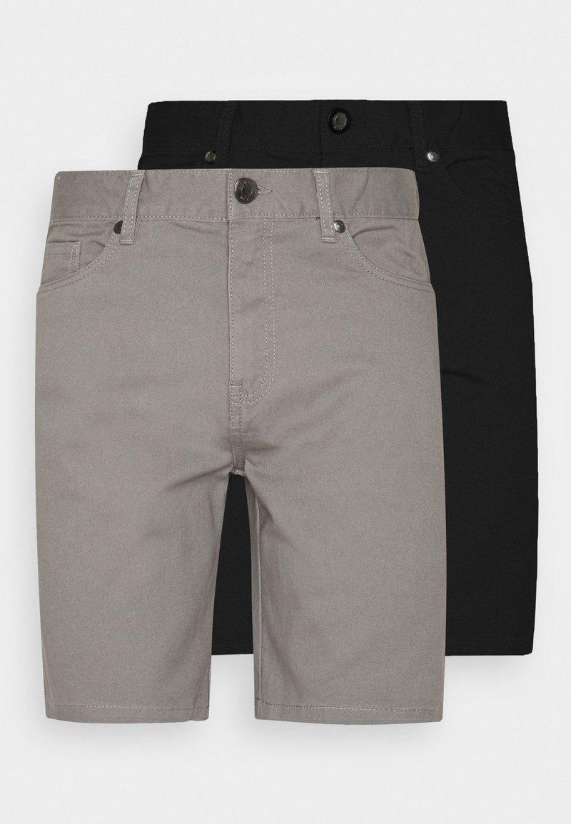 Newport Bay Sailing Club - 2 PACK - Shorts - black/mid grey