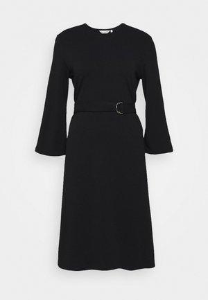KALEET DRESS - Jerseykjole - black