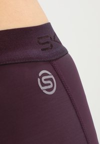 Skins - DNAMIC LONG - Leggings - merlot - 7