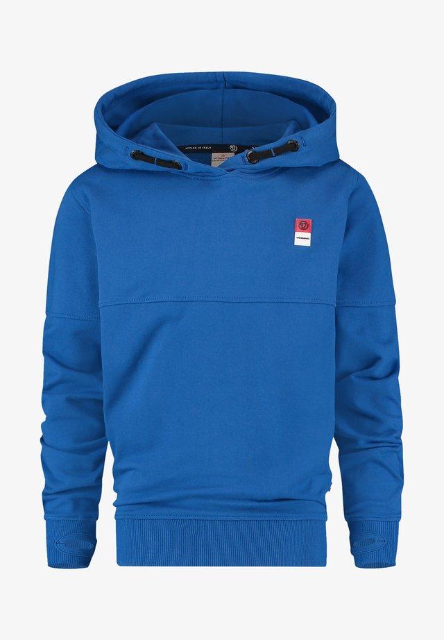 Hoodie - pool blue