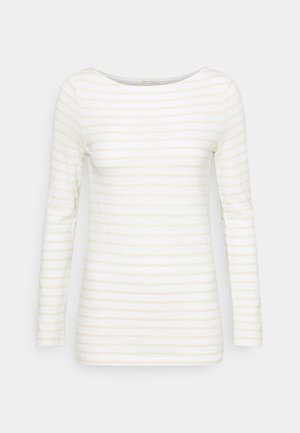 LONG SLEEVE - Long sleeved top - multicolor/paper white