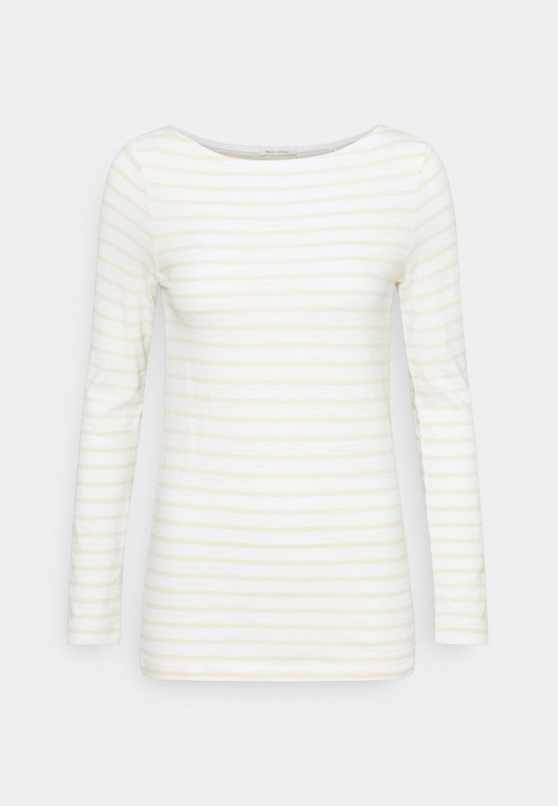 Marc O'Polo - LONG SLEEVE - Long sleeved top - multicolor/paper white