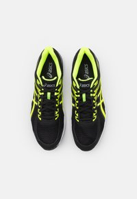 ASICS - GEL-BRAID - Scarpe running neutre - black/safety yellow - 3
