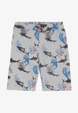 TEEN BOYS BERMUDA - Teplákové kalhoty - grey melange