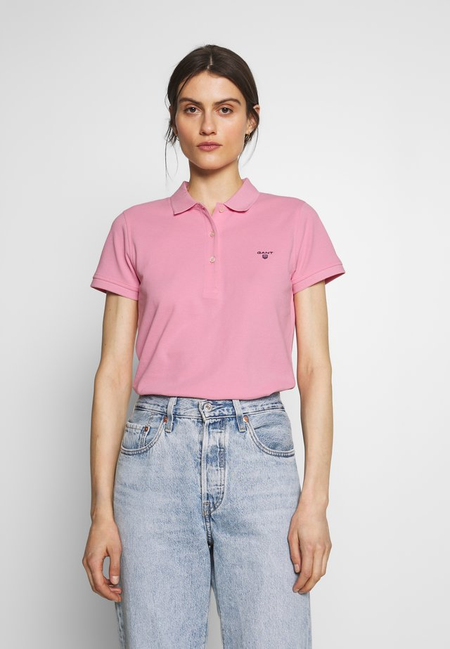 Polo shirt - bright pink