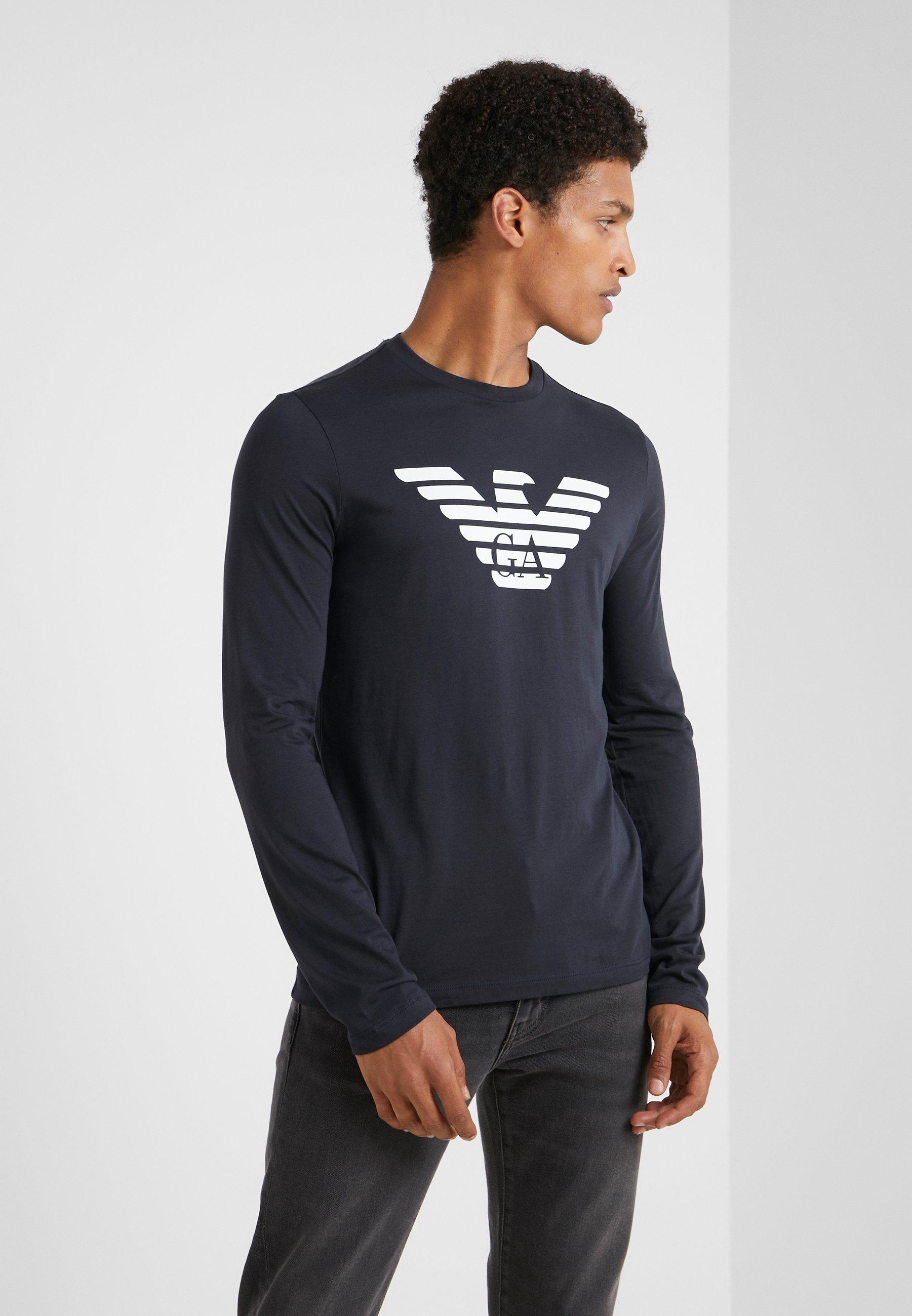 Homme T-shirt à manches longues