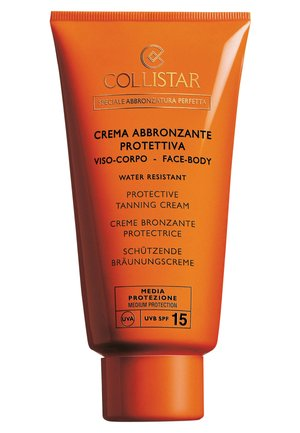 PROTECTIVE TANNING CREAM SPF 15 - Protection solaire - -