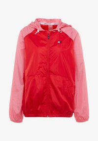 Tommy Sport - BLOCKED WITH LOGO - Windbreaker - red - 4
