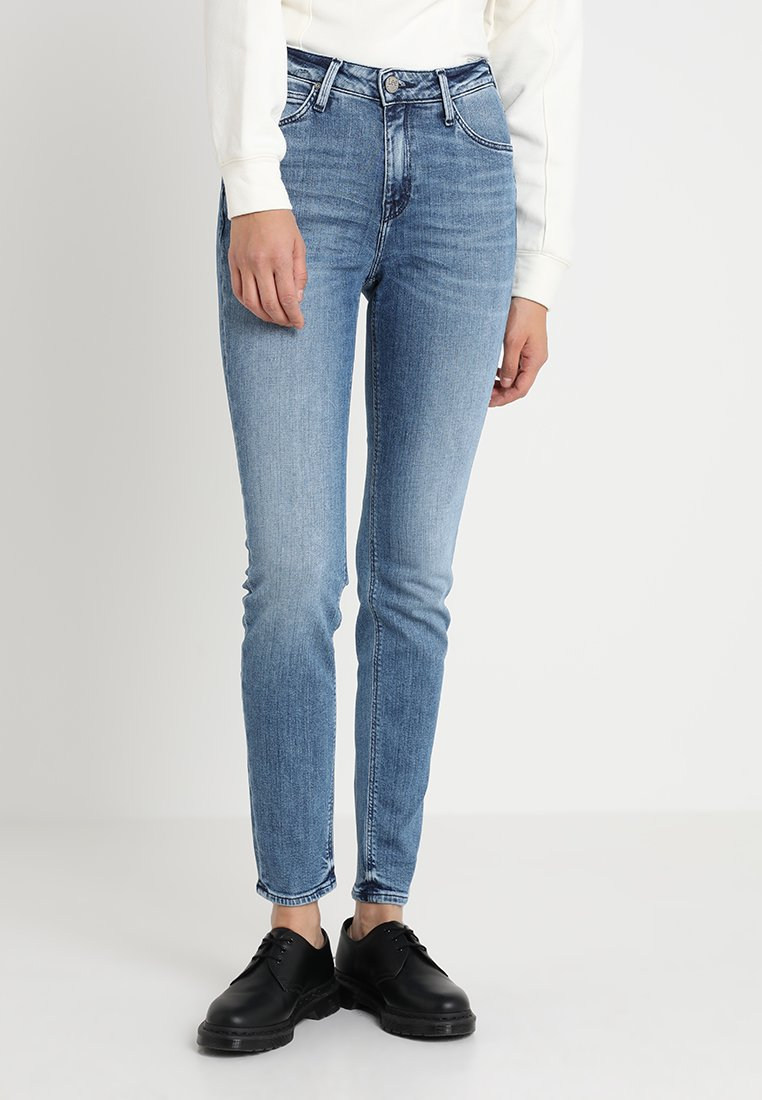 Lee - SCARLETT HIGH - Jeans Skinny Fit - stone blue denim