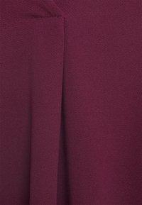 Vero Moda - VMCALI SHORT DRESS  - Day dress - winetasting - 2