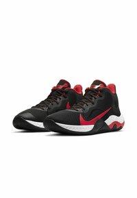 Nike Performance - RENEW ELEVATE - Basketball shoes - black/university red-white - 2