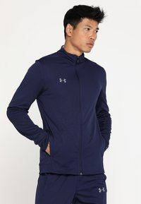 Under Armour - CHALLENGER KNIT WARM-UP - Træningssæt - midnight navy/graphite - 0