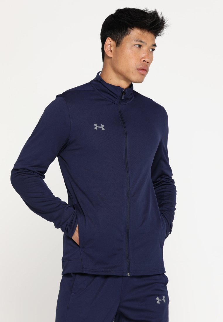 Under Armour - CHALLENGER KNIT WARM-UP - Tracksuit - midnight navy/graphite