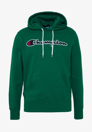ROCHESTER HOODED - Hoodie - dark green