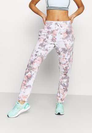 LIFESTYLE GYM TRACKPANT - Tracksuit bottoms - apricot