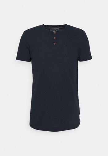 HENLEY - T-shirt basic - sky captain blue