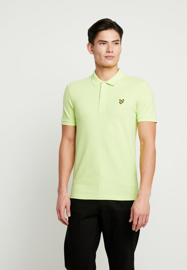 SLIM FIT - Polo - sharp green