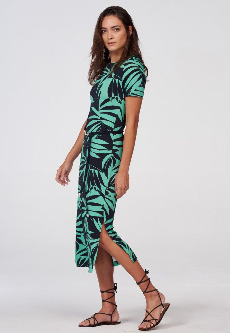 Laurel - Jersey dress - black/green