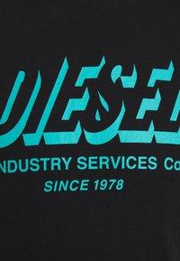 Diesel - DIEGOS UNISEX - Print T-shirt - black - 4