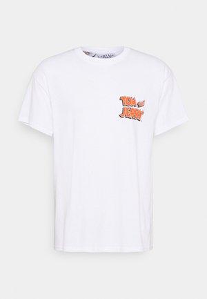 TOM & JERRY GRAPHIC UNISEX - Print T-shirt - white