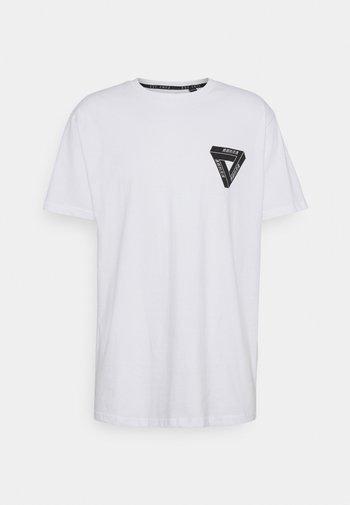 SCALE - Print T-shirt - white