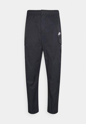UTILITY PANT - Teplákové kalhoty - black/white