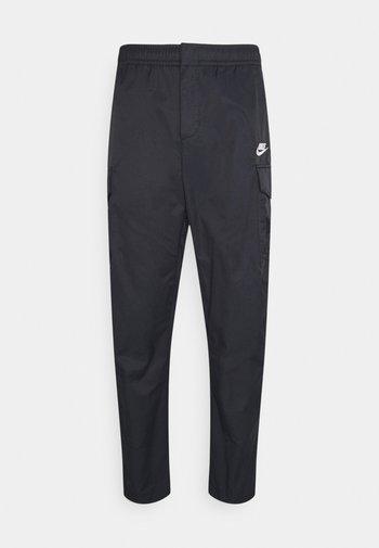 UTILITY PANT - Pantalon de survêtement - black/white
