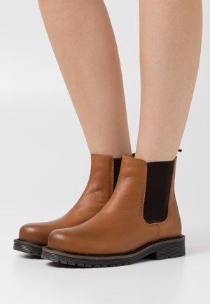 STELLA - Classic ankle boots - cognac