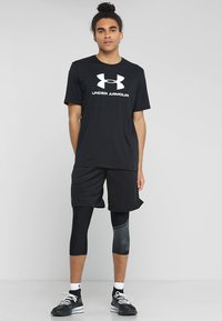 Under Armour - Sports shorts - black/pitch gray - 1