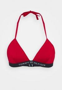 CORE SOLID LOGO TRIANGLE FIXED - Bikini top - primary red