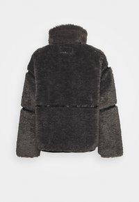 Sixth June - FLUFY AVIATOR JACKET - Winter jacket - grey - 1