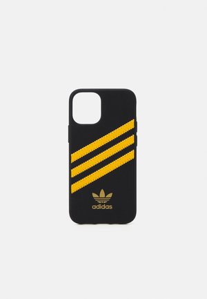 IPHONE 12 MINI - Kännykkäpussi - black/collegiate gold