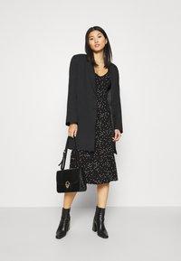Anna Field - Jersey dress - black/white - 1