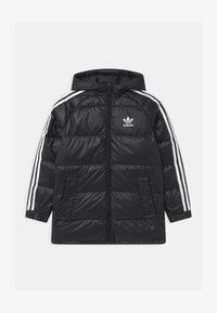 adidas Originals - UNISEX - Down coat - black/white - 0