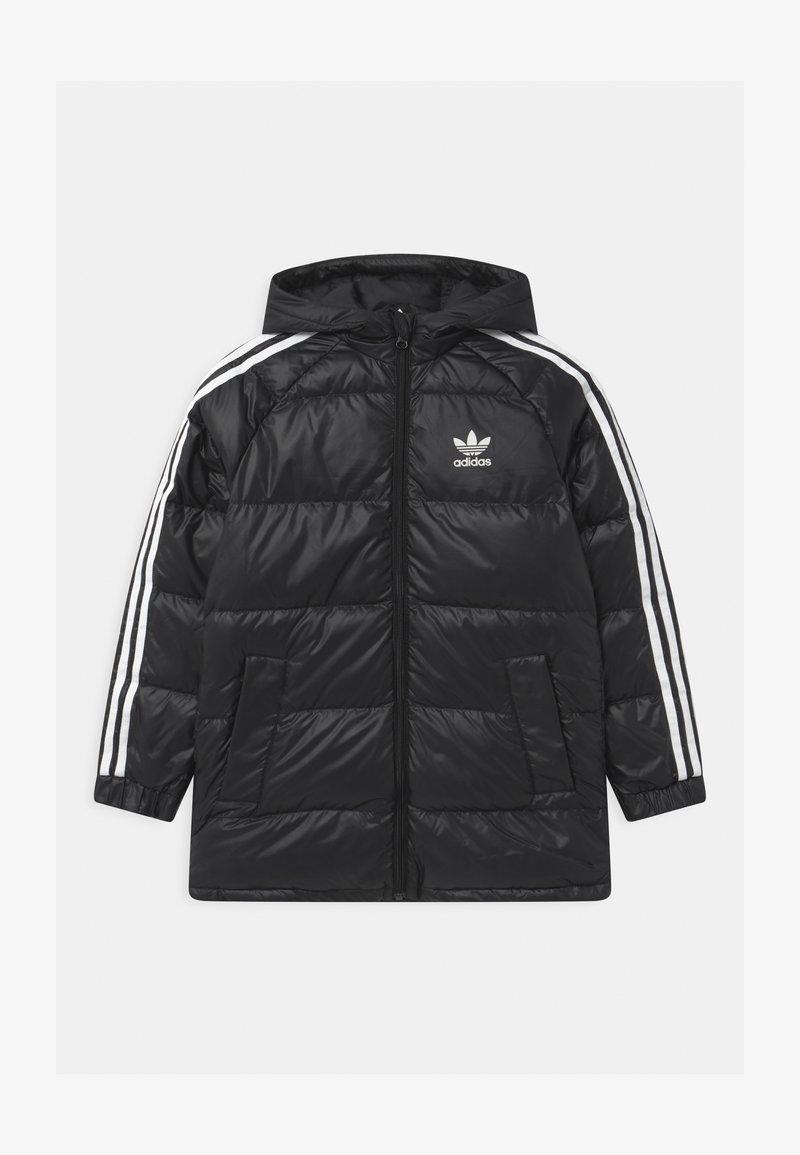 adidas Originals - UNISEX - Down coat - black/white