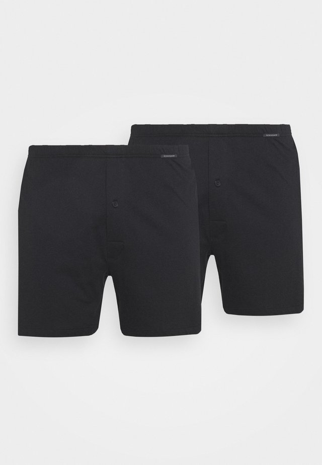 2 PACK  - Boxershorts - schwarz