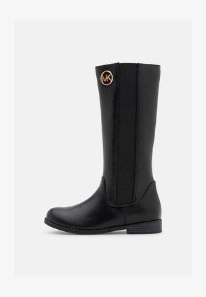 EMMA LIBERTY - Vysoká obuv - black smooth