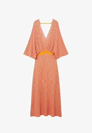 FAIRY - Sukienka dzianinowa - orange