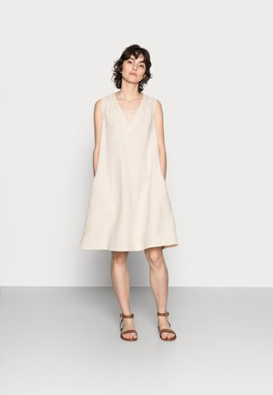 DRESS - Day dress - summer taupe