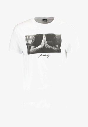 PRAY - T-shirt imprimé - white