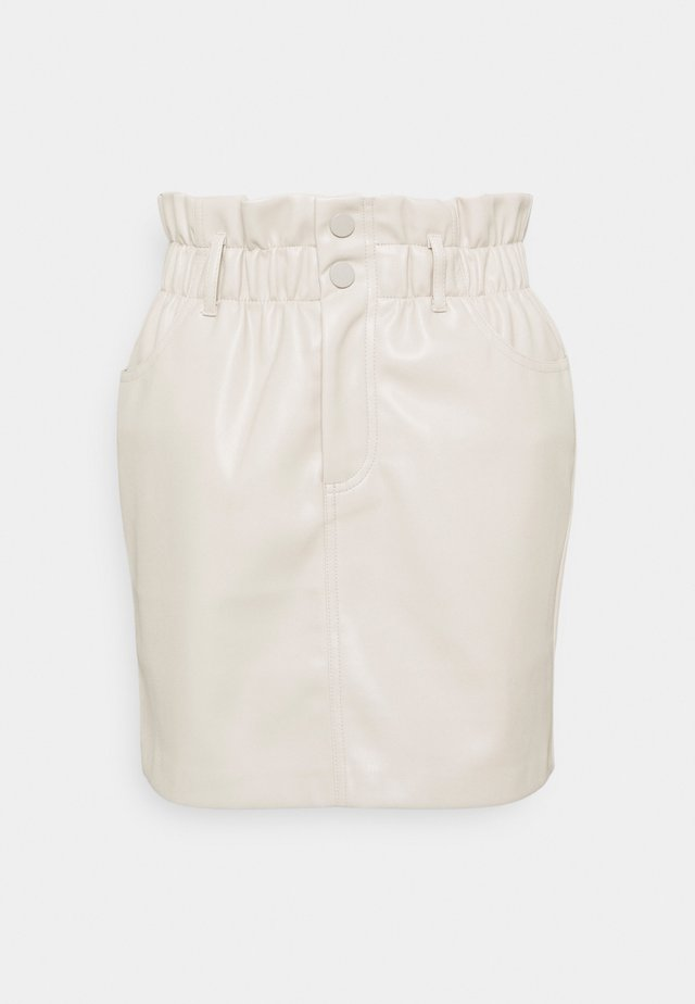ONLMILLIE MIRI  - Mini skirt - pumice stone