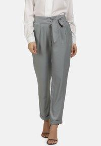 usha - Trousers - grey - 0