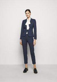 MAX&Co. - MONOPOLI - Trousers - navy blue pattern - 1