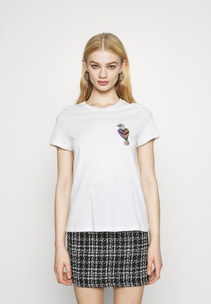 VMMILIZAFRANCIS  - Print T-shirt - snow white