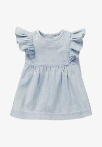 Noppies - Day dress - light blue denim - 0