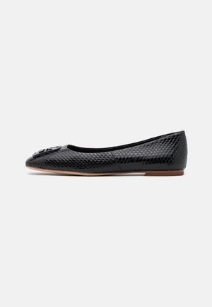 SQUARE TOE - Ballet pumps - perfect black