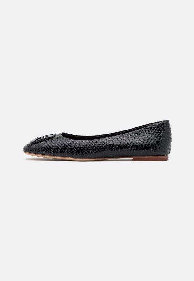 SQUARE TOE  - Ballet pumps - perfect black