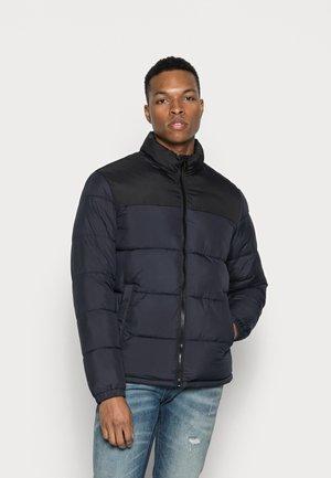 JJPAUL PUFFER COLLAR - Winter jacket - dark navy