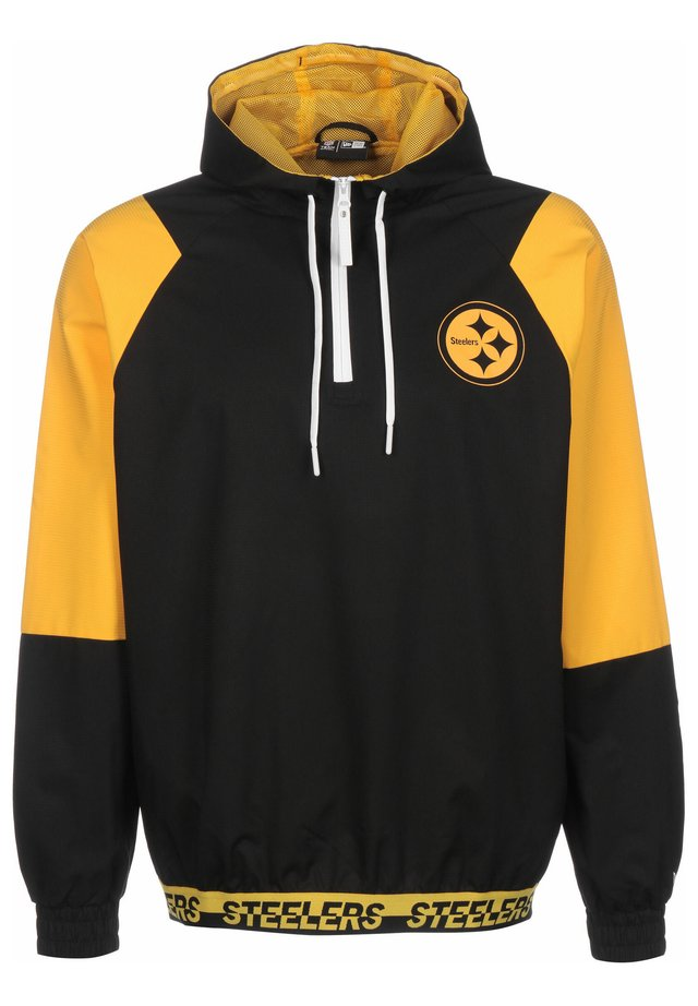NEW ERA WINDBREAKER NFL PITTSBURGH STEELERS - Cortaviento - black